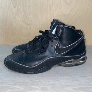 Nike Shox Elite Flight Black / Silver Men's 15